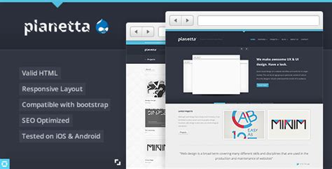 drupal theme item list panekah responsive drupal theme by tabvn themeforest