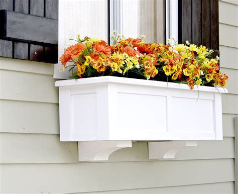 Window Corbels Upgrade Window Boxes With Decorative Corbels