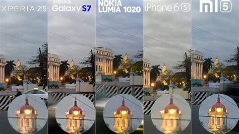 galaxy   xperia  lumia  iphone  mi camera