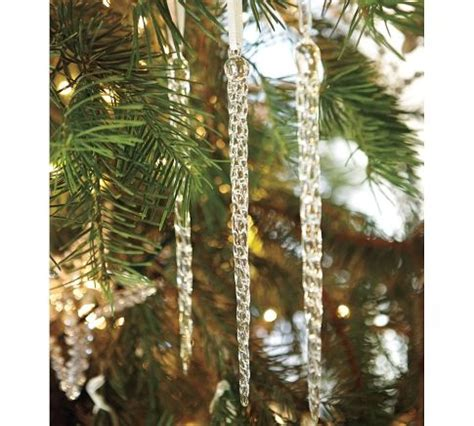 Tree Decorations Icicles by Glass Icicles Decor