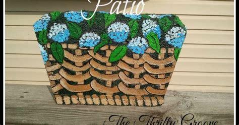 painted patio pavers painted patio pavers hometalk