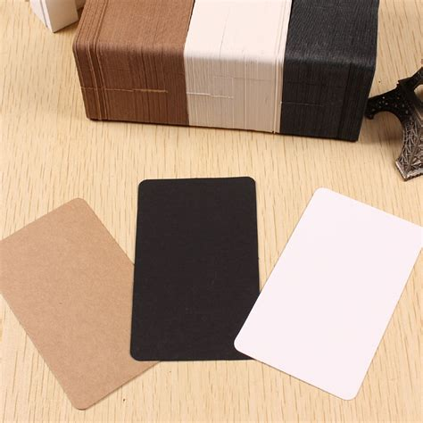Thick Craft Paper - 200pcs lot 6 10cm thick retro blank kraft paper diy