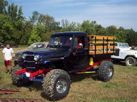willys jeep truck lifted crawler ewillys