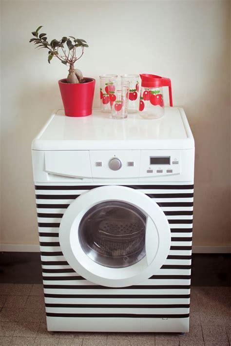 Stiker Mesin Cuci mendekorasi tilan mesin cuci agar lebih cantik