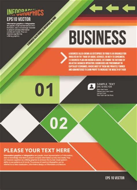 commonly business brochure cover design vector 01 free best 65 free infographic vector templates designmaz