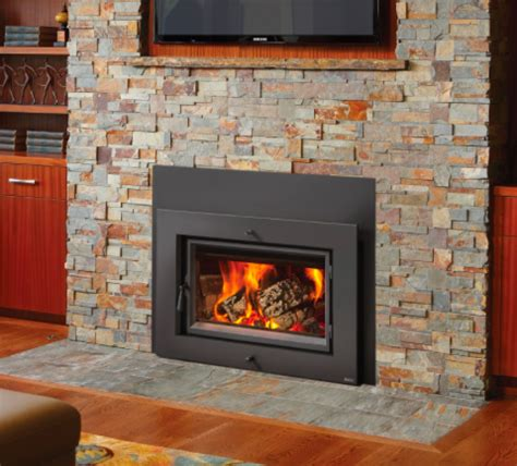 country stove and patio large flush wood hybrid fyre wood insert rectangle country stove patio and spa