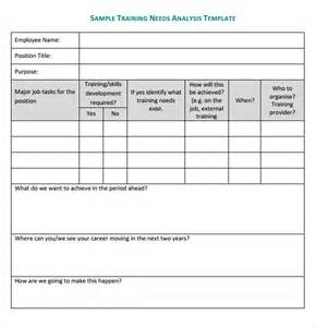 simple needs analysis template needs analysis template 14 documents
