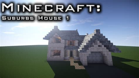 minecraft suburban house tutorial minecraft suburban house tutorial 1 youtube