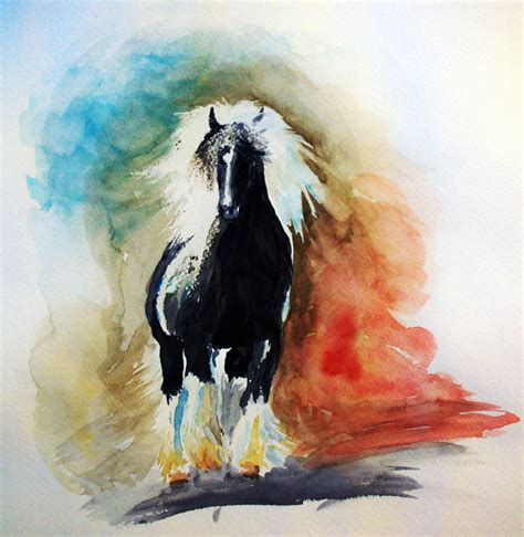 watercolor horse tutorial watercolor horse study by christa s nelson on deviantart
