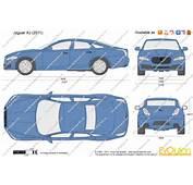 The Blueprintscom  Vector Drawing Jaguar XJ
