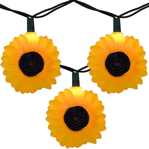 Sunflower Party String Lights Sunflower Lights