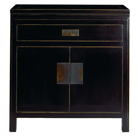 japanese black lacquer cabinet 4living large black lacquer bedside cabinet oriental homes