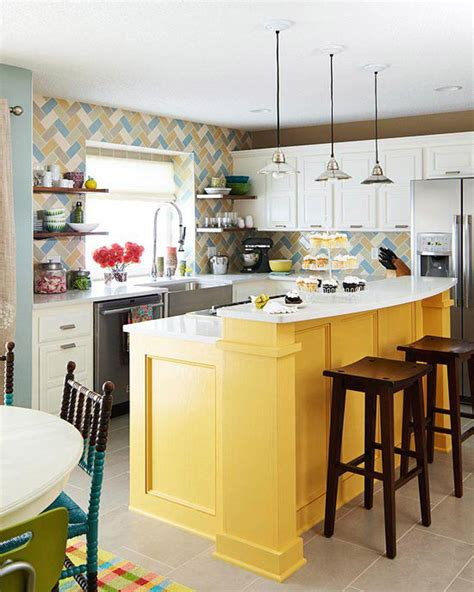 kitchen island color ideas bright kitchen ideas color to use in bright kitchen