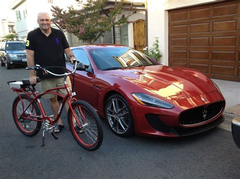 Maserati Does 185 by His Maserati Does 185 And He Wanted A Bike To Match The