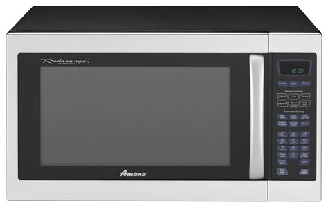 amana countertop microwaves 1 5 cu ft amc6158bas sears