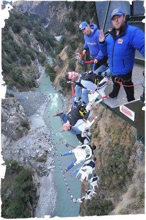 Bungee Jumping Chair - quot the chair quot bungee jump shotover swing queenstown