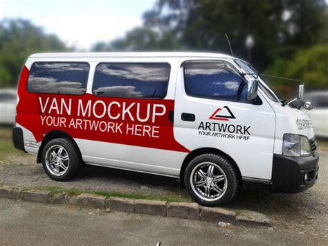 van design mockup 70 free outdoor advertisment branding mockup psd files