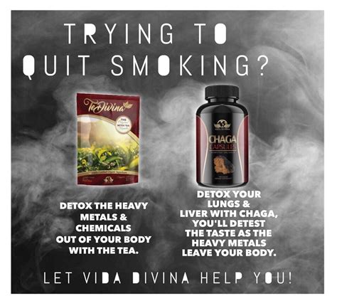 Quit Detox Tea quit today with te divina https vidadivina te