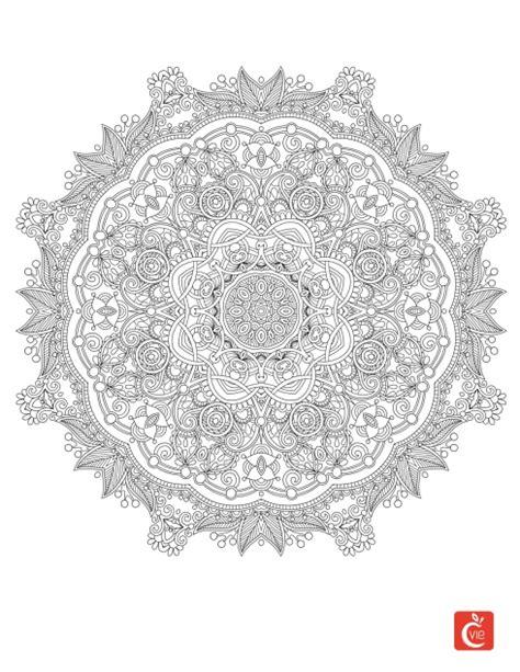 Mandalas : origine et effets bénéfiques   Mandala à imprimer