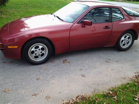porsche velvet velvet unreserved 1989 porsche 944 german cars for sale