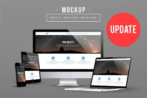 tutorial website mockup 8 website mockups psd indesign ai format download
