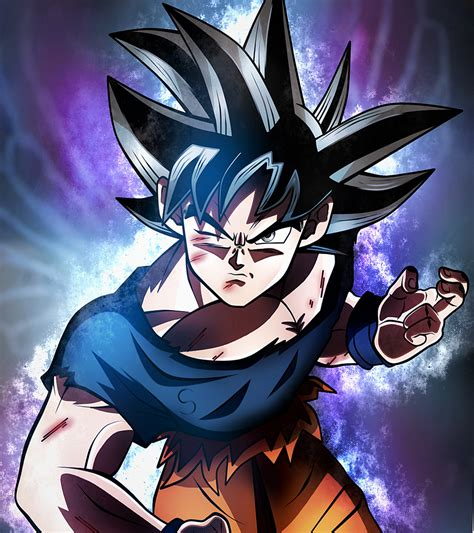 imagenes de goku instinct goku limit breaker ultra instinct dragon ball s z by