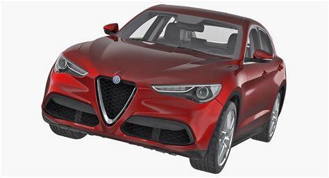 Alfa Romeo 2017 Models by 3d Model Alfa Romeo Stelvio 2017 Turbosquid 1244958