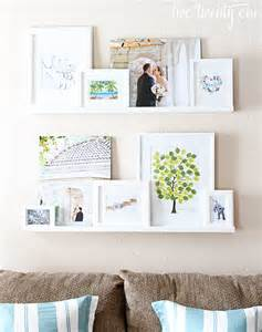 Ikea Ribba Picture Ledges by Photos Framed Art