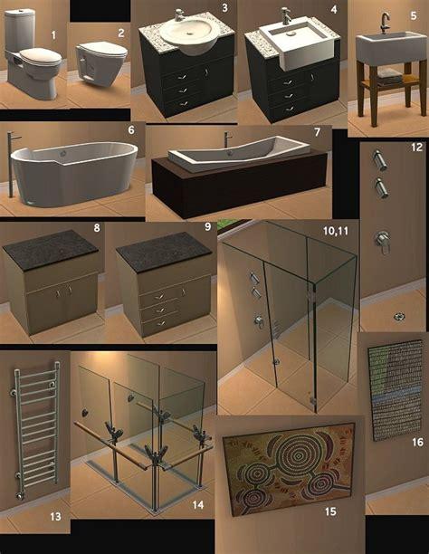 mod bathrooms mod the sims the great aussie bathroom