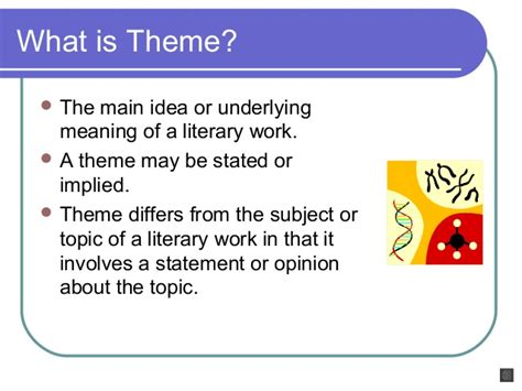 what does theme mean in a story what is theme