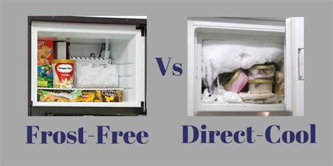Refrigerator frost free vs direct cool   Zelect.in