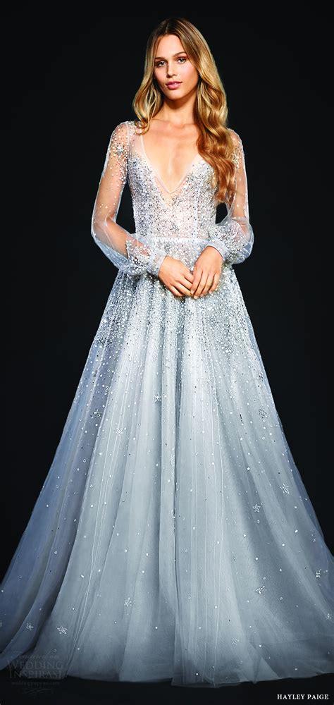 hayley paige bridal dresses wedding photos refinery29 2017 wedding dress trends part 2 silhouettes
