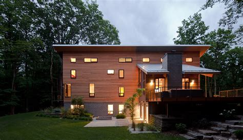 box car house trapezoidal pigeon creek residence in western michigan by lucid architecture stylish eve