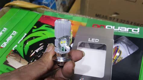 paling terang bohlam lu cree led motor h6 hi low