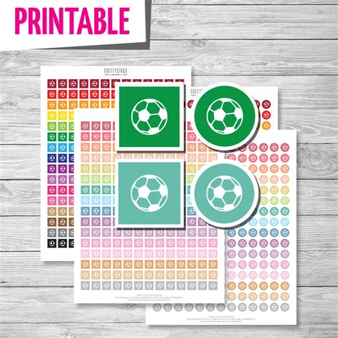 printable soccer stickers soccer stickers printable soccer stickers soccer planner