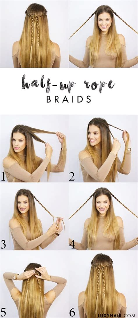 easy hairstyles for school photos 35 goddess half up half hairstyles fashiondioxide