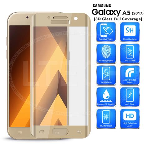 Tempered Glass A500h Samsung Galaxy A5 Duos Diskon 2 samsung galaxy a5 2017 a520 duos 3d screen curved tempered glass gold
