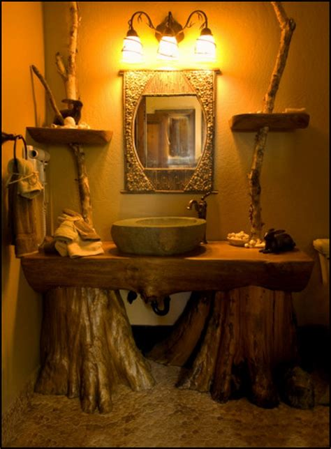 Rustic Bathroom Vanity Ideas by 19 Specific Rustic Bathroom Design Ideas To Enjoy This
