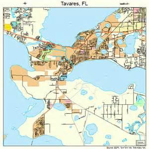 tavares florida map 1271225