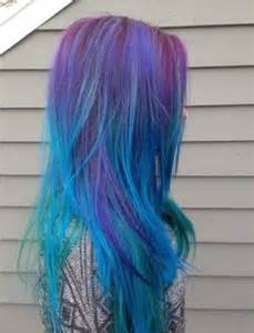 multi colored hair ideas hair galaxy hair and galaxies on