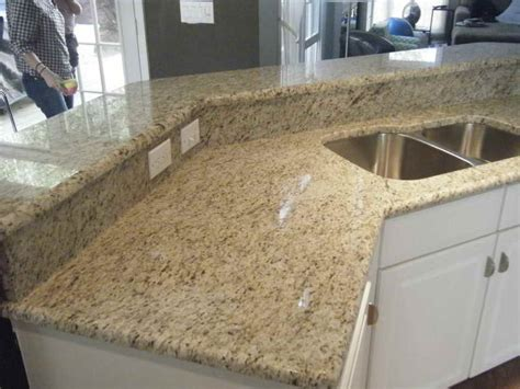 kitchen giallo ornamental granite kitchen warm colors kitchen design tile backsplash ideas