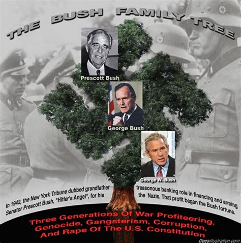 illuminati family tree george bush junior the bush family for