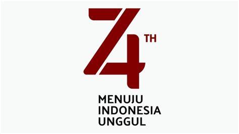 bertema indonesia unggul  logo peringatan hut ri