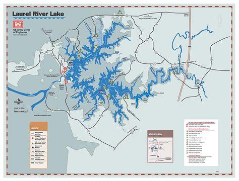 kentucky lake map pdf nashville district gt locations gt lakes gt laurel river lake