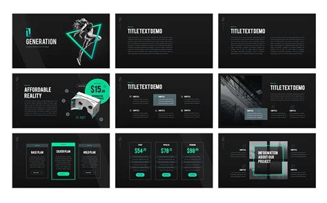 unique powerpoint themes free z generation creative powerpoint template 65792