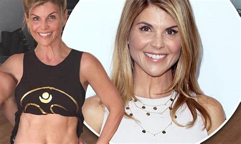 lori loughlin tv shows lori loughlin shows off her toned midriff and lithe limbs