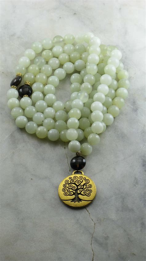 jade mala meaning tree of 108 mala buddhist prayer