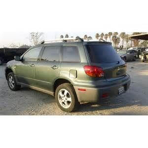 2003 Mitsubishi Outlander Used Parts Used 2003 Mitsubishi Outlander Parts Car Green With