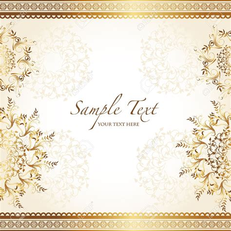 invitation card design gold beautiful gold wedding card wedding invitation cards gold