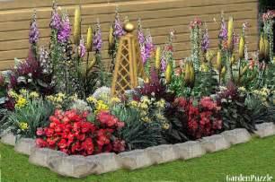 flower bed gardenpuzzle online garden planning tool
